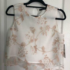 Never worn Zara Blouse (tags still on)